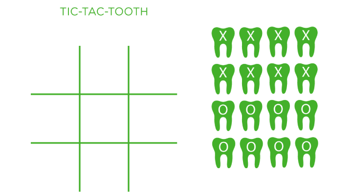 Tic-Tac-Tooth Board